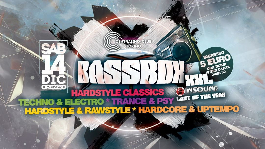 B A S S B O X  XXL | Last Of The Year event cover