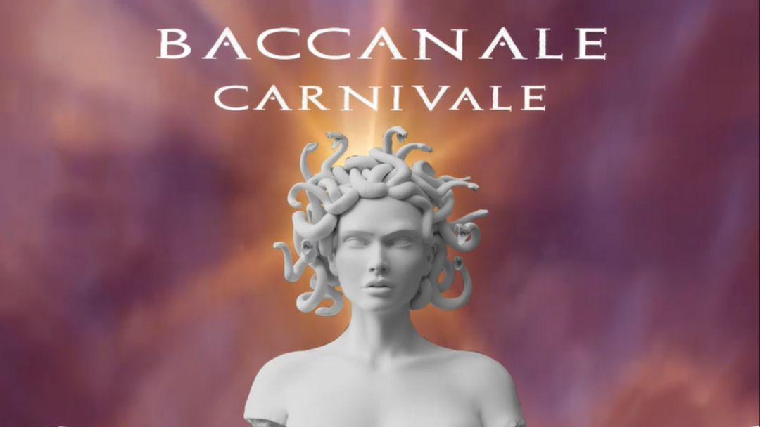 Cartel del evento Baccanale Carnivale