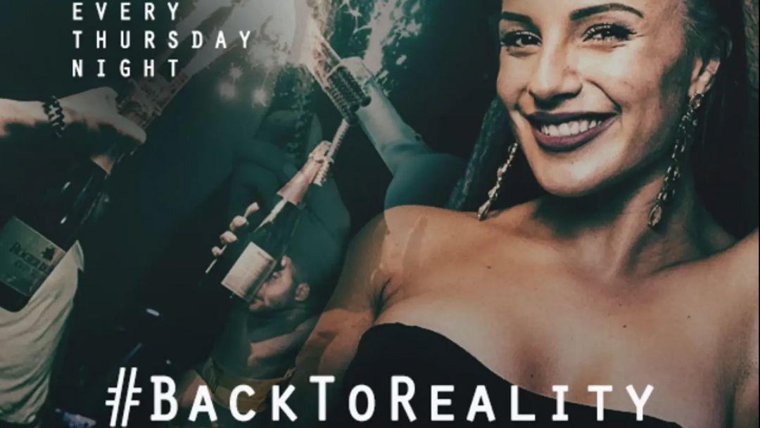#BackToReality | Every Thursday event cover