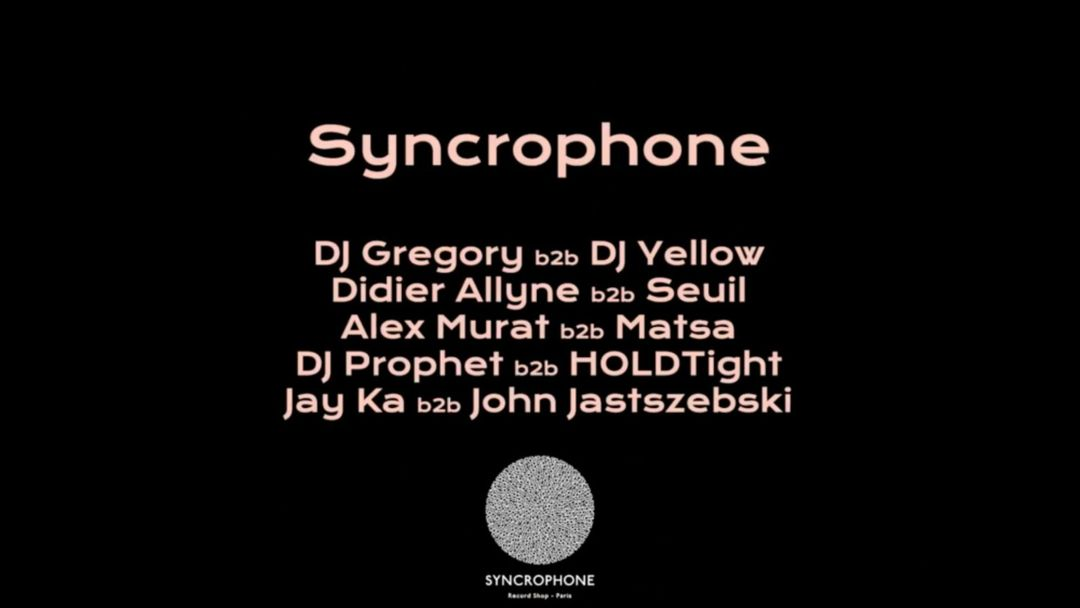 Cartel del evento Badaboum Club: Syncrophone Back to Basics