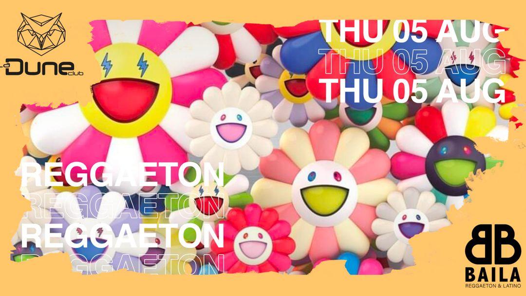 Cartell de l'esdeveniment BAILA - Reggaeton & Latino