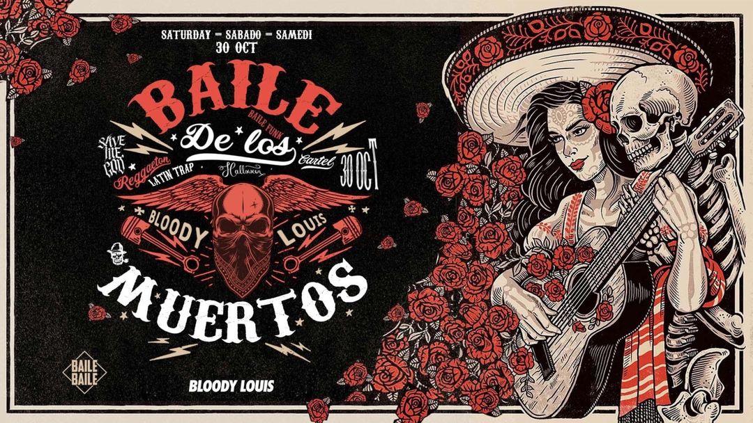 Cartel del evento BAILE DE LOS MUERTOS
