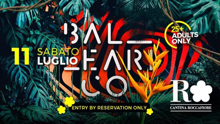 Cover for event: BALEARICO - Cantina Roccafiore