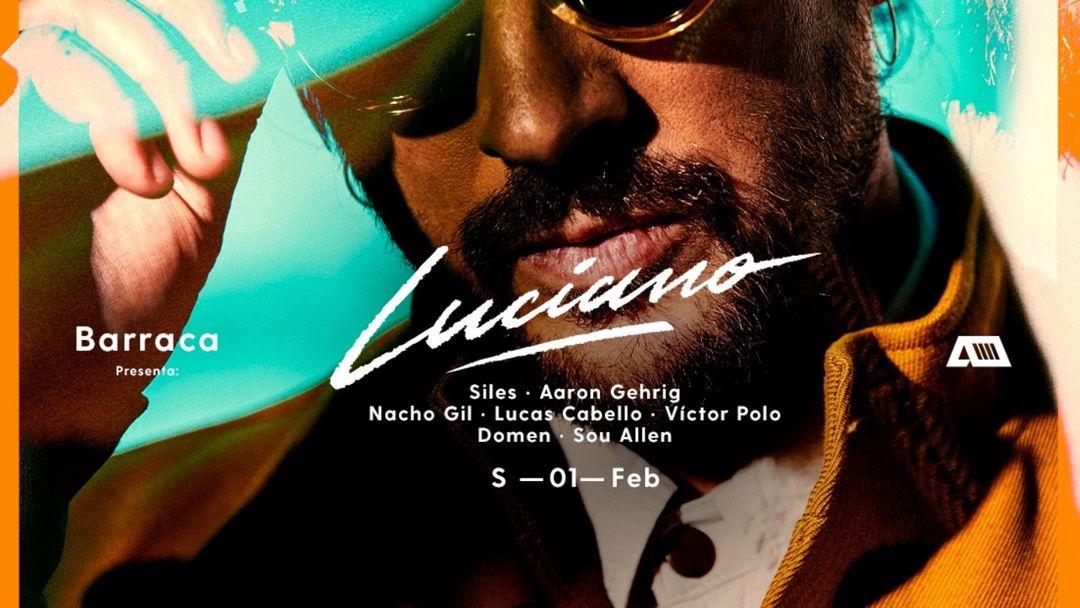 Cartel del evento Barraca | Luciano