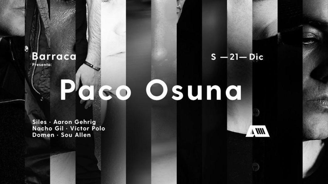 Copertina evento Barraca | Paco Osuna