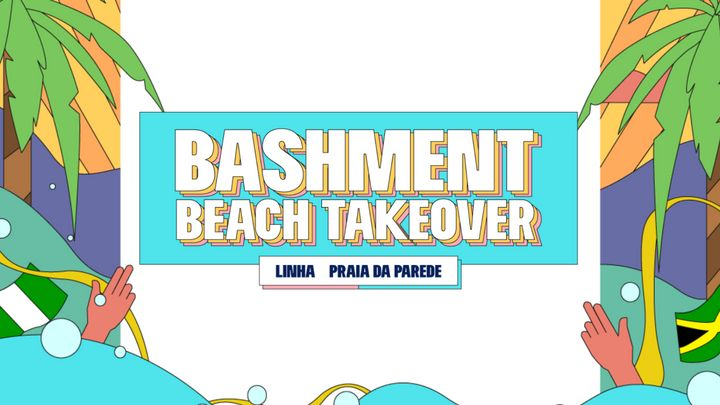 Cover for event: Bashment - Beach Takeover with Enigma vs Whyviidee