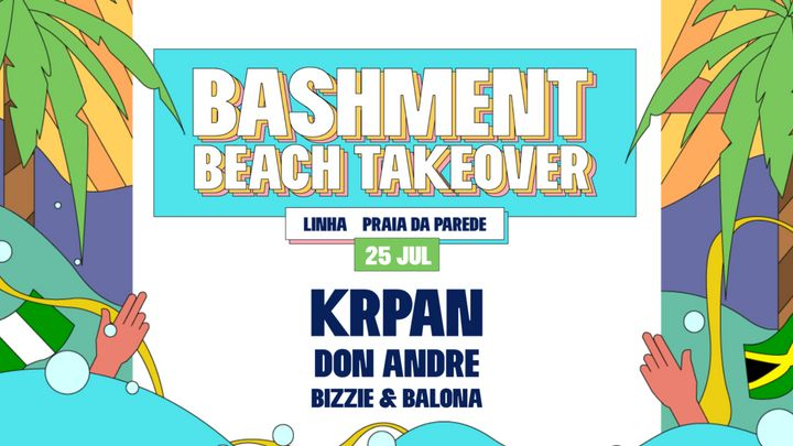 Cover for event: Bashment - Beach Takeover with Krpan