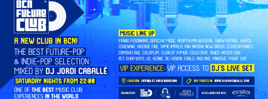 BCN Future Club Parties by Dj Jordi Caballé event cover