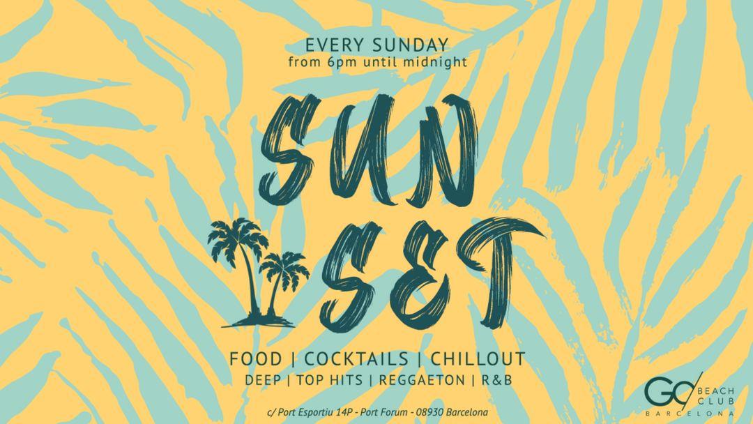 Beach Club | Sunset event cover