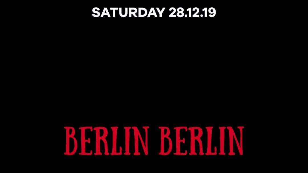 Cartel del evento BERLIN BERLIN: GEGEN BERLIN SHOWCASE - MARTINA S. ESTHER DUIJN MAR/US