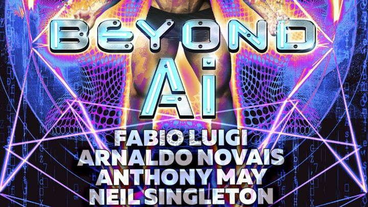 "Cover for event: BEYOND ""AI"" (MEN ONLY) - Official Event Maspalomas Pride 2021"