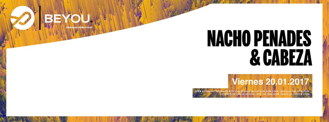 Cartel del evento Beyou: Attemporal Music Club