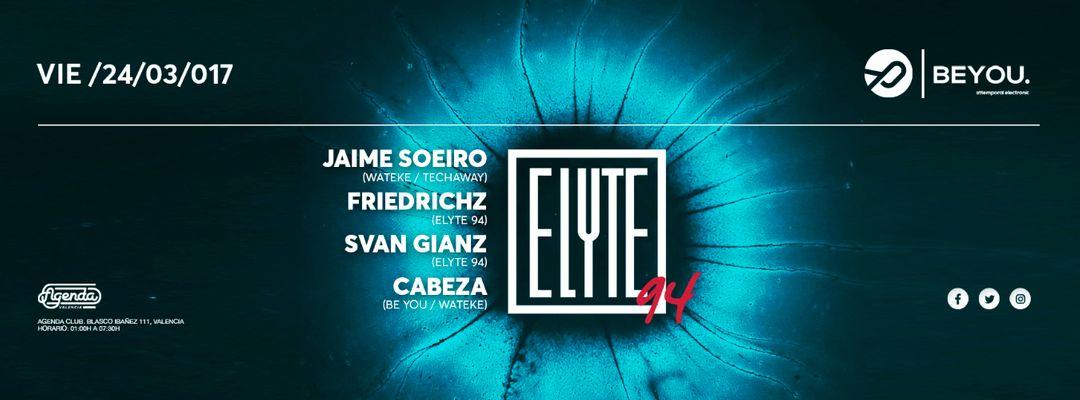 Cartel del evento Beyou: Attemporal Music Club Presents ELYTE94