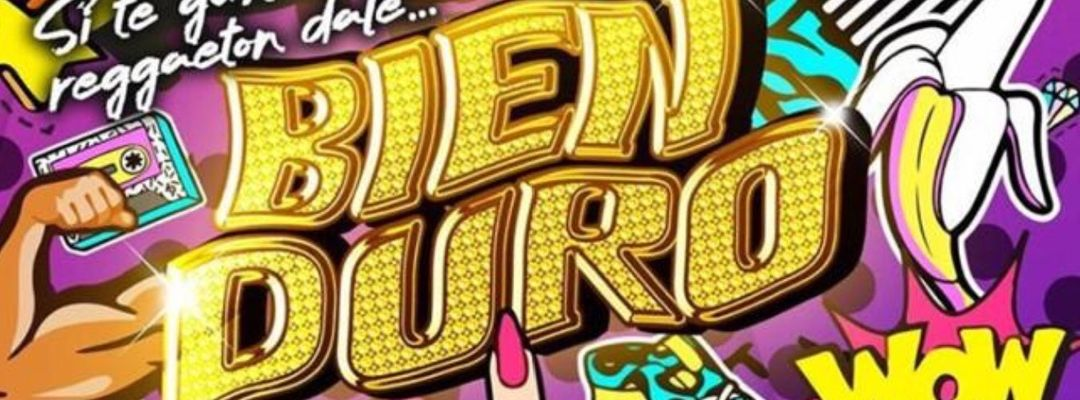 Couverture de l'événement BIEN DURO, todos los VIERNES en SONORA!!!