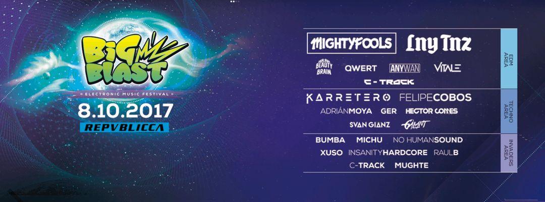 Cartel del evento Big Blast Festival