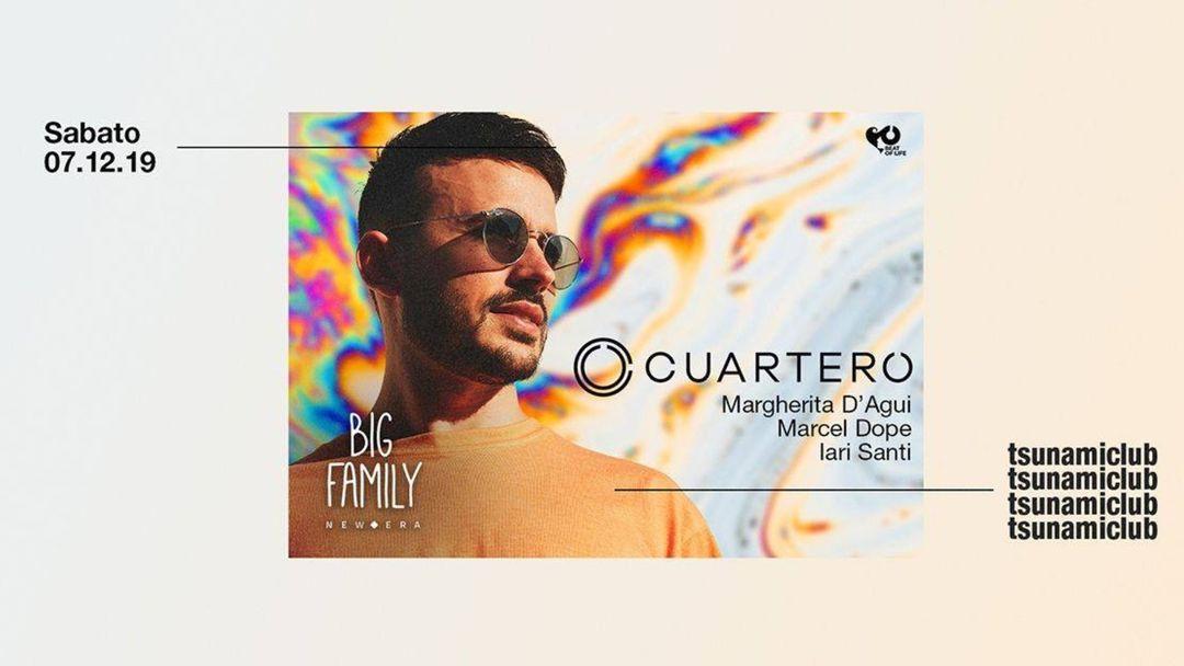 Couverture de l'événement Big Family presents Cuartero