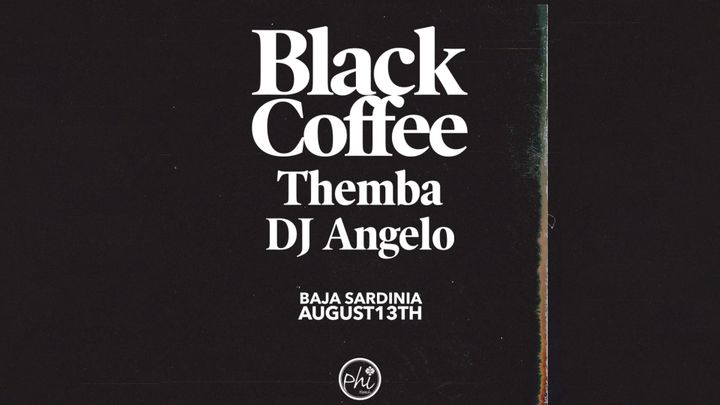 Cover for event: Black Coffee