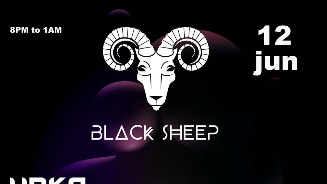 BLACK SHEEP 12 JUNIO event cover
