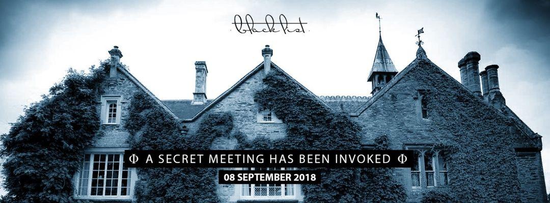 BLACKLIST MEETINGS UK · BRISTOL event cover