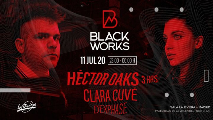 Cover for event: Blackworks: Héctor Oaks + Clara Cuvé