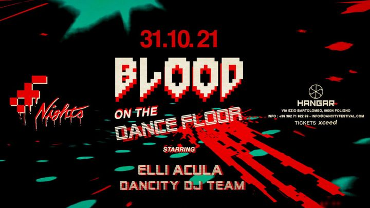 Cover for event: Blood On The Dance Floor w/ ELLI ACULA, Dancity DJ Team