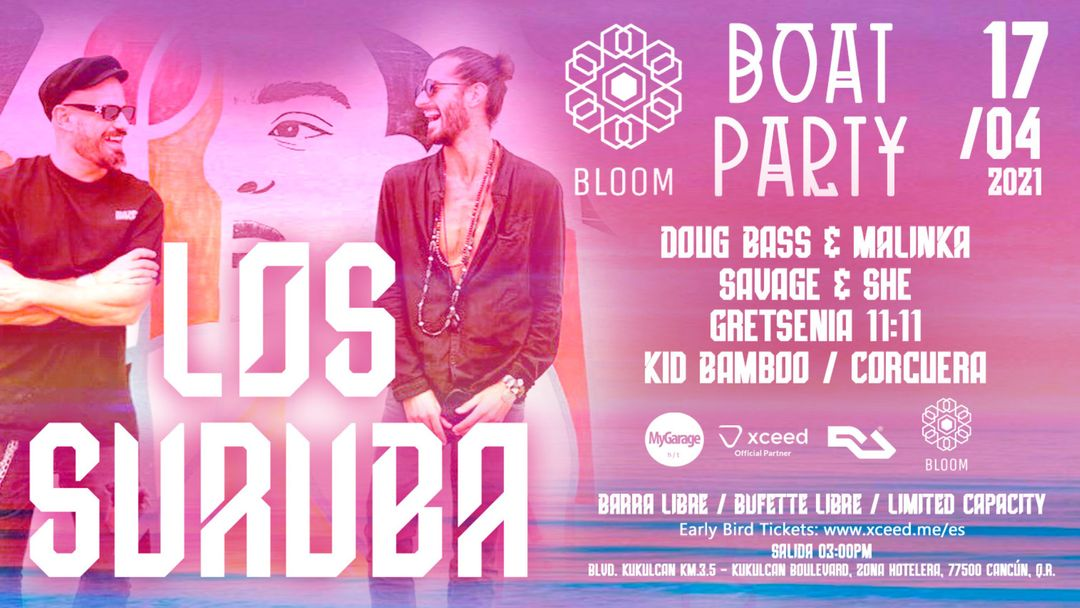 Copertina evento BLOOM Boat Party