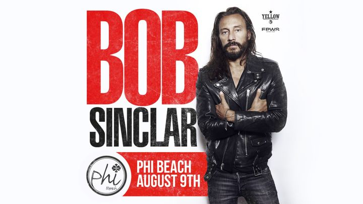 Cover for event: Bob Sinclar