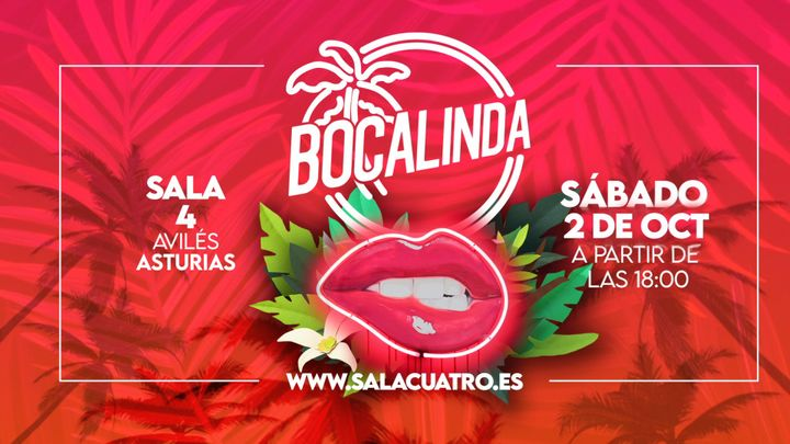 Cover for event: BOCALINDA CON ROBERT MORR / SAB 02 OCTUBRE