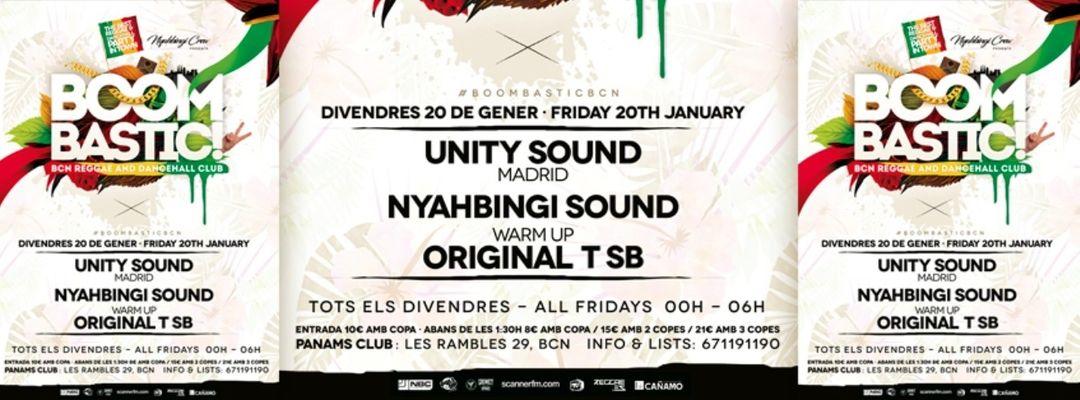 Cartel del evento BoomBastic Club   Best of Dancehall & Reggae