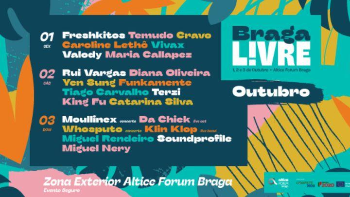 Cover for event: BRAGA LIVRE