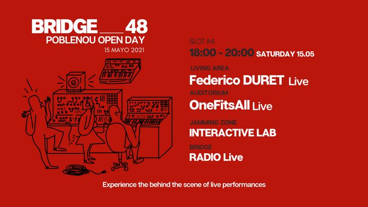 Cover for event: BRIDGE_48 + POBLENOU Open Day 18:00-20:00