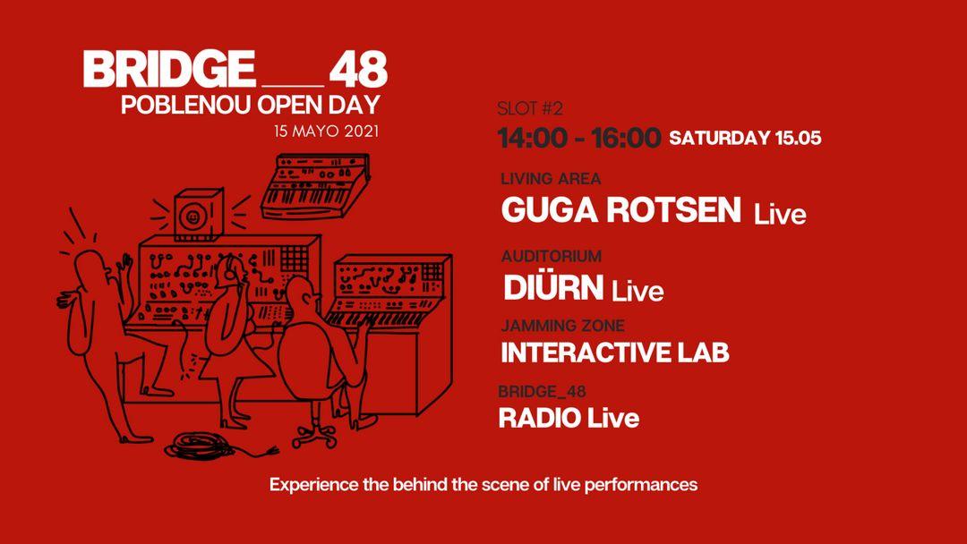 BRIDGE_48 + POBLENOU Open Day 14:00-16:00 event cover
