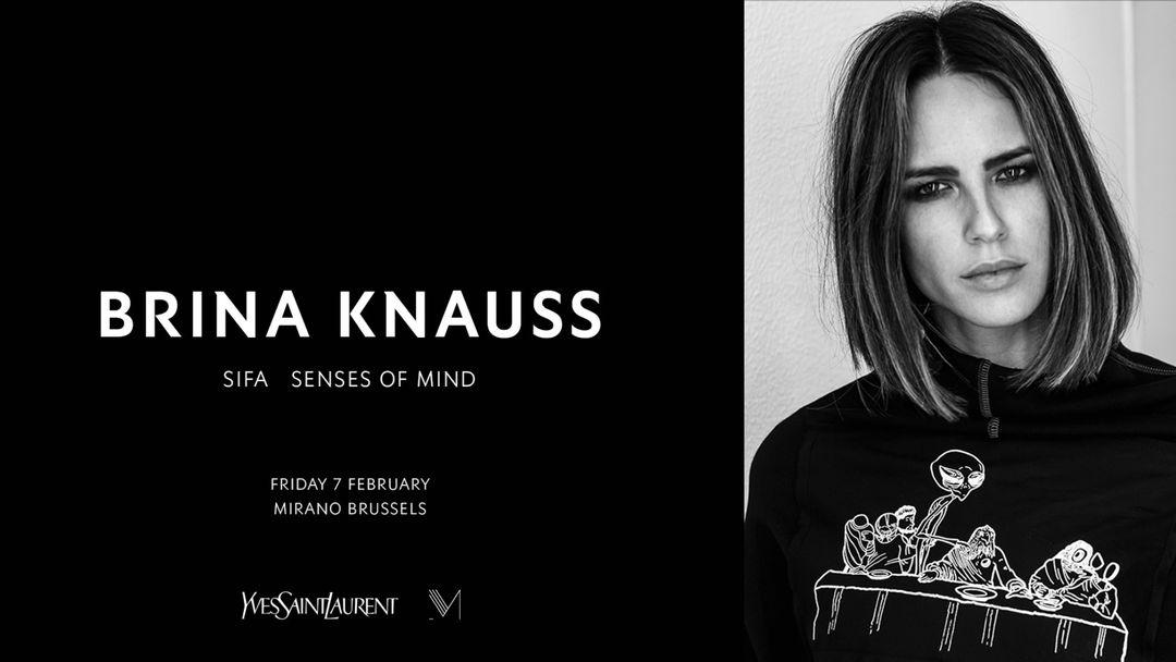 BRINA KNAUSS | MIRANO BRUSSELS event cover