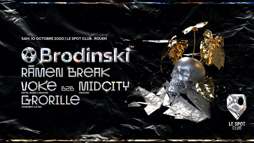 Couverture de l'événement Brodinski @ Le Spot Club, ROUEN
