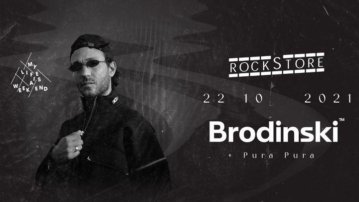 Cover for event: Brodinski • Rockstore, Montpellier
