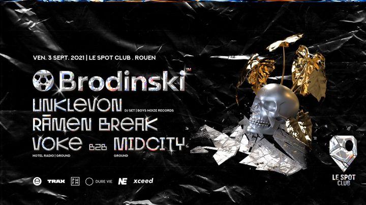 Cover for event: Brodinski + Unklevon (Boys Noize Records)