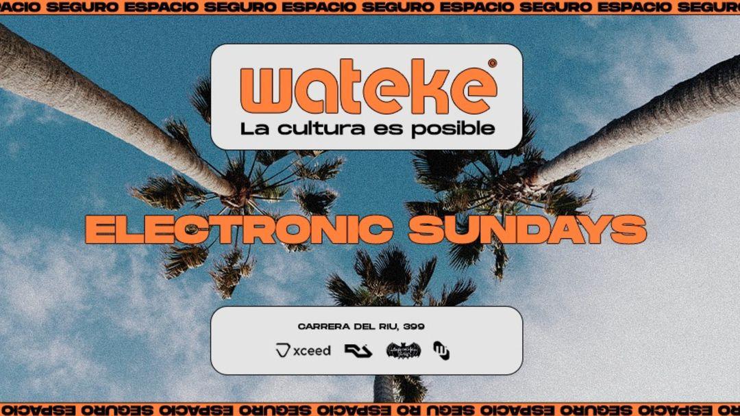 Cartel del evento Wateke