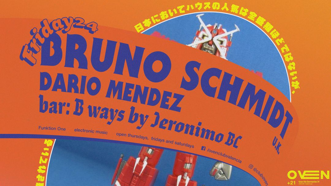 Cartel del evento BRUNO SCHMIDT + Dario Mendez
