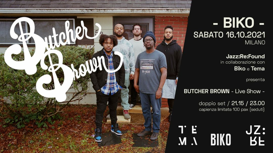 Butcher Brown - Live Show 1 (h 21.15) event cover