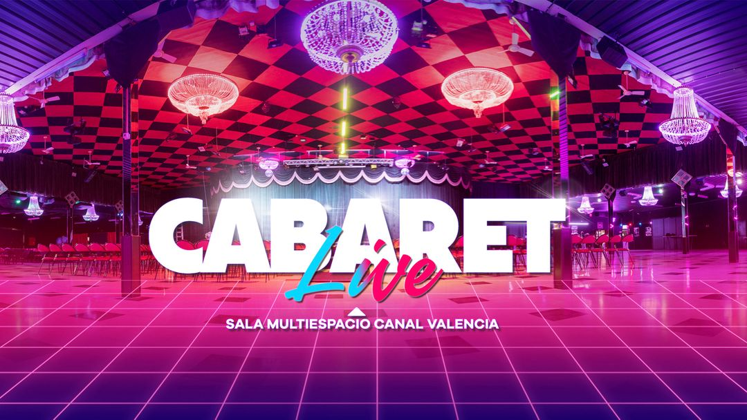 CABARET Live · HINDS & LEY DJ event cover