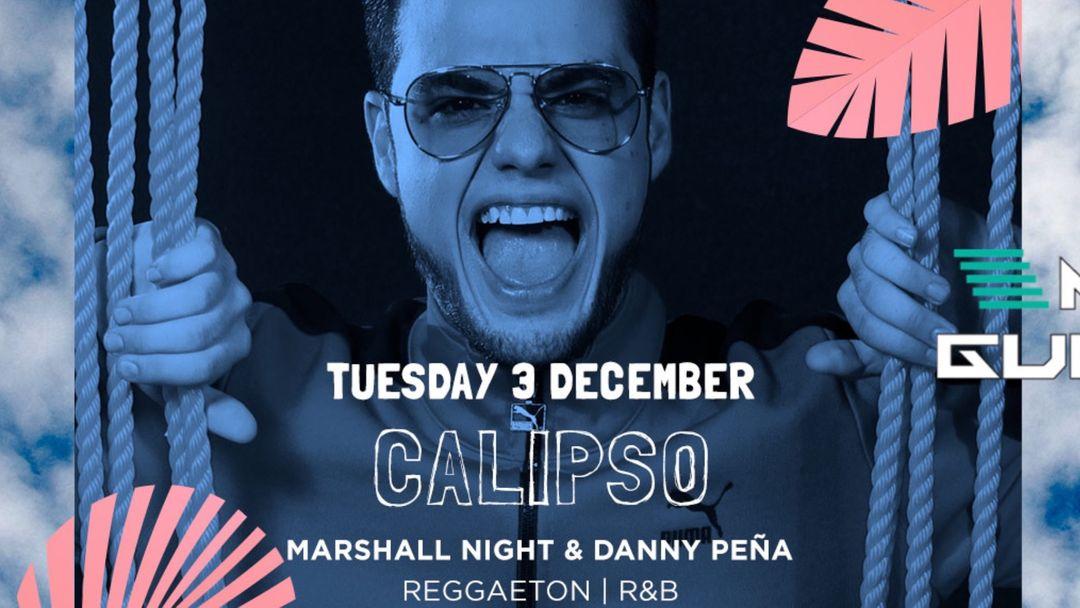 Capa do evento Calipso | Reggaeton · R&B
