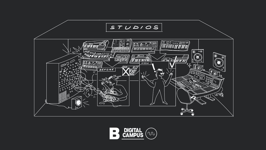 Cartel del evento CAMPUS DIGITAL > BRIDGE_48 & EUMES - 24 al 29 de Agosto -