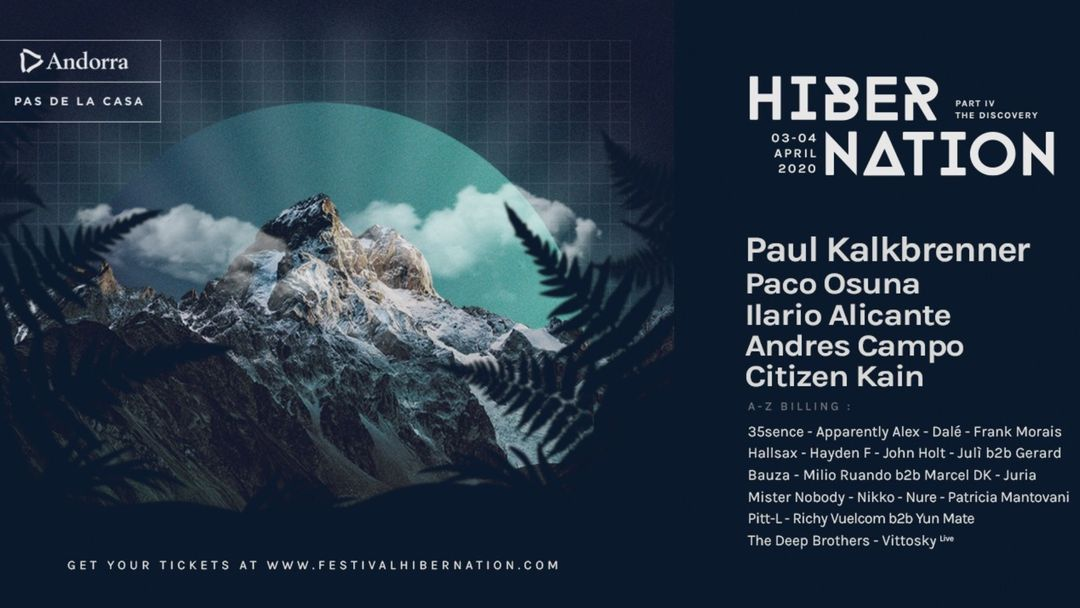 Cartel del evento CANCELLED - Hibernation Festival | Part IV: The Discovery