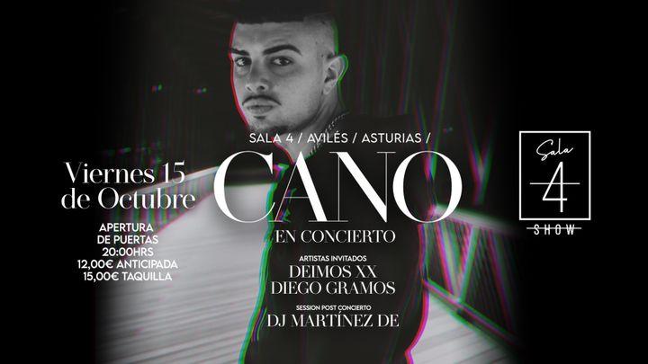 Cover for event: CANO en directo / VIE 15 OCTUBRE