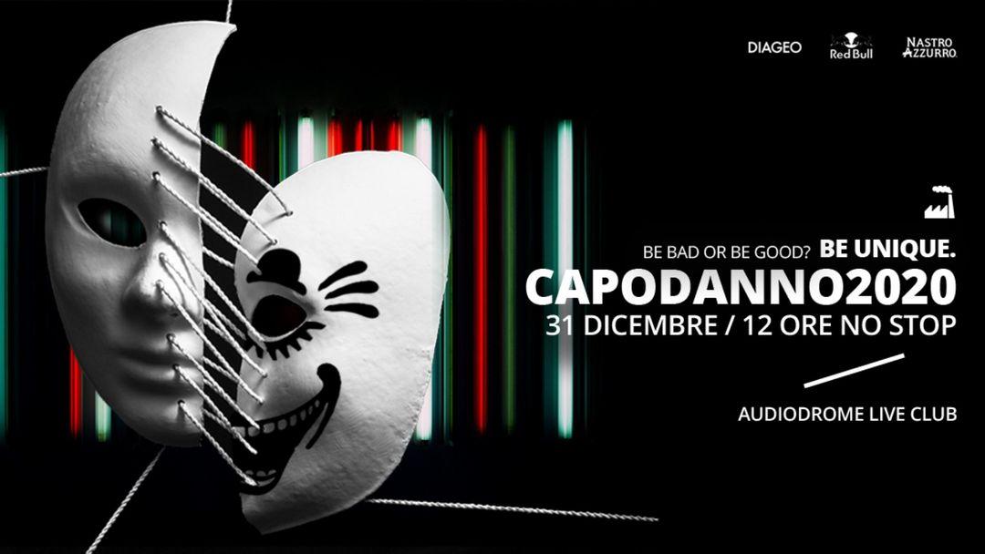 Copertina evento CAPODANNO 2020 | 12 ORE NO STOP | AUDIODROME