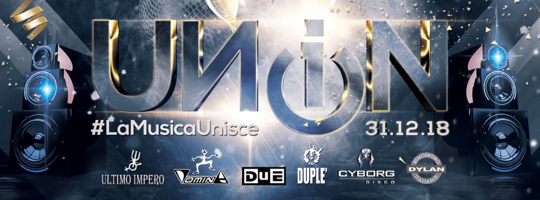 Cartel del evento Capodanno UN1ON   WOW CLUB   Torino