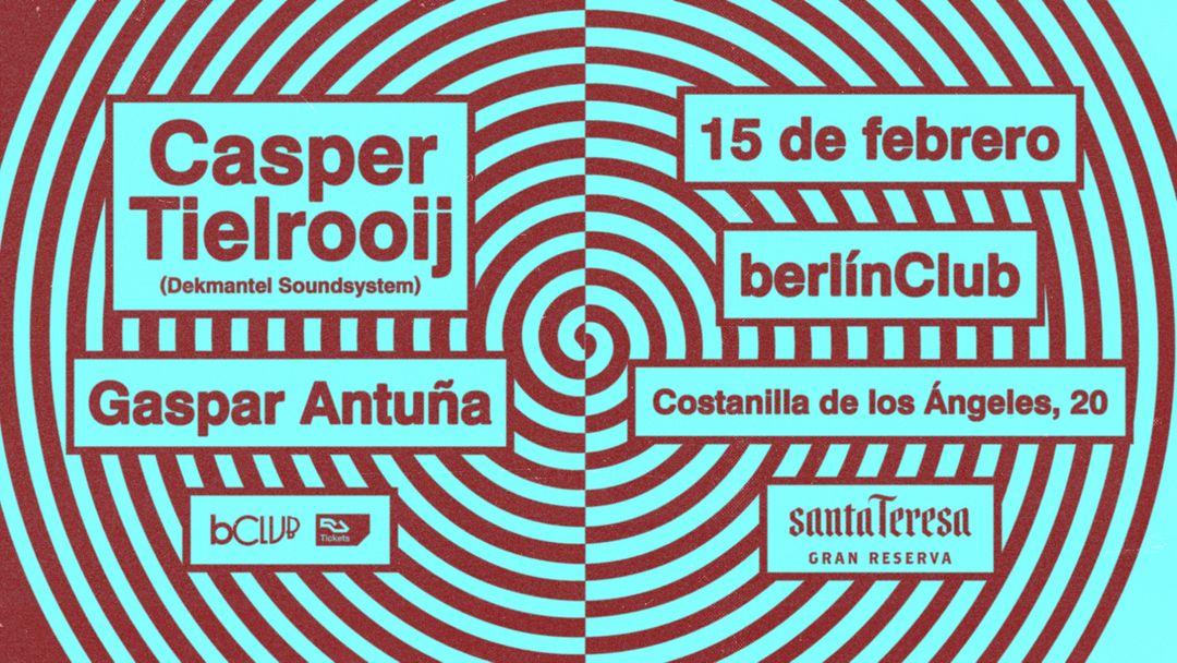 Cartel del evento Casper Tielrooij (Dekmantel Soundsystem)
