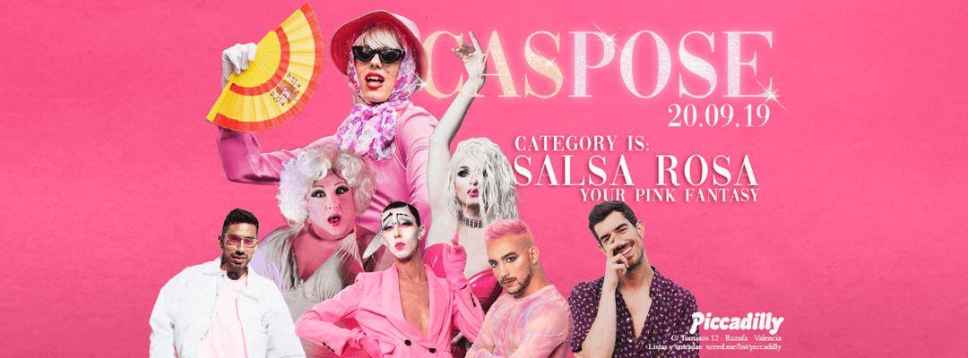 #CASPOSE con Samantha Hudson || Un escenario, una categoría y tú-Eventplakat