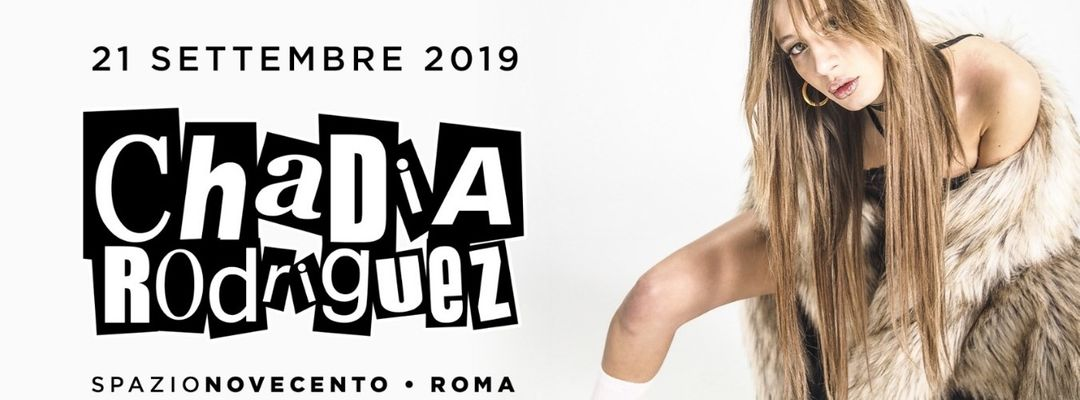 Chadia Rodriguez-Eventplakat
