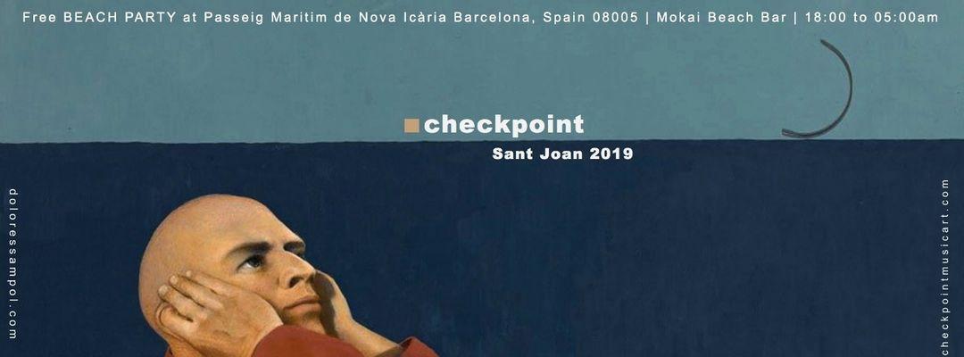 Copertina evento ■ Checkpoint Sant Joan 2019 Beach Party - Platja Nova Icària